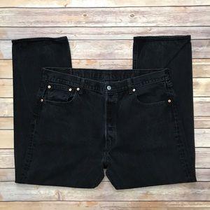 Levi's 501 Black Jeans | Size 40 x 30
